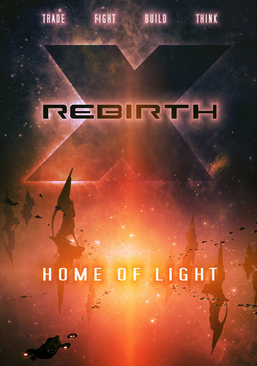 X Rebirth: Home of Light - Cover