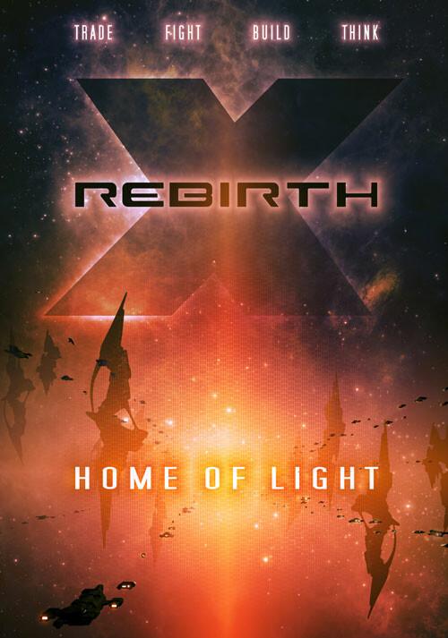 X Rebirth: Home of Light - Cover / Packshot