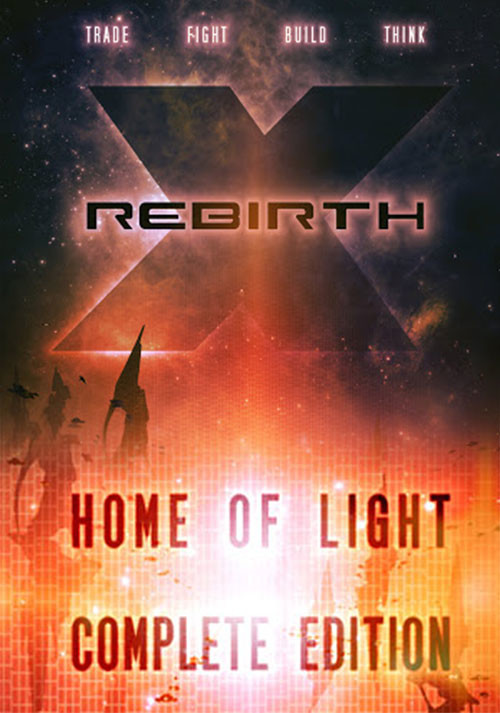 X Rebirth Complete - Cover / Packshot