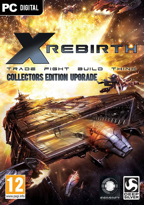 X Rebirth Collector's Edition Upgrade - Cover / Packshot