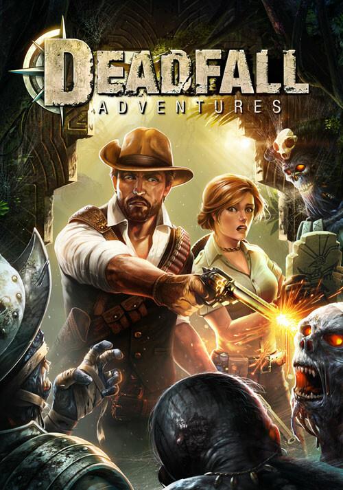 Deadfall Adventures - Cover / Packshot