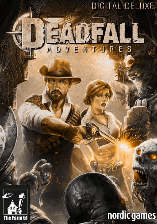 Deadfall Adventures - Deluxe Edition - Cover
