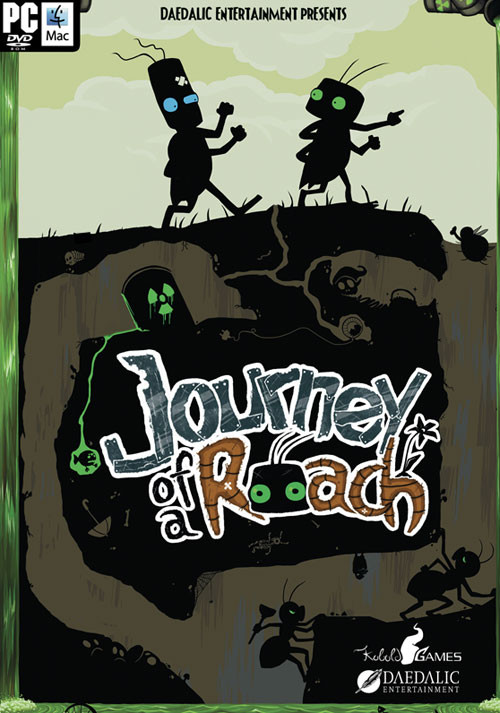 Journey of a Roach - Cover / Packshot