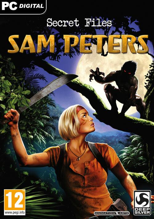 Secret Files: Sam Peters - Cover
