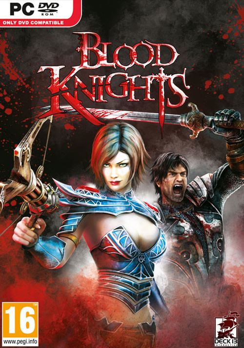 Blood Knights - Cover