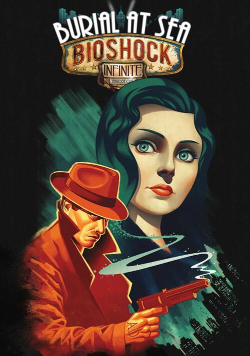 BioShock Infinite: Burial at Sea - Episode 1 - Cover