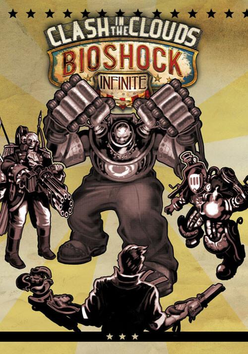 Bioshock Infinite: Clash in the Clouds - Cover