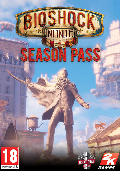 BioShock Infinite: Season Pass - Cover / Packshot
