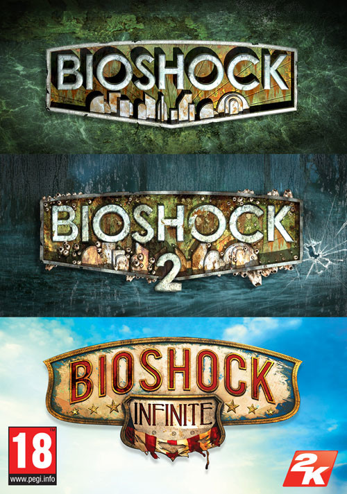 BioShock Triple Pack - Packshot