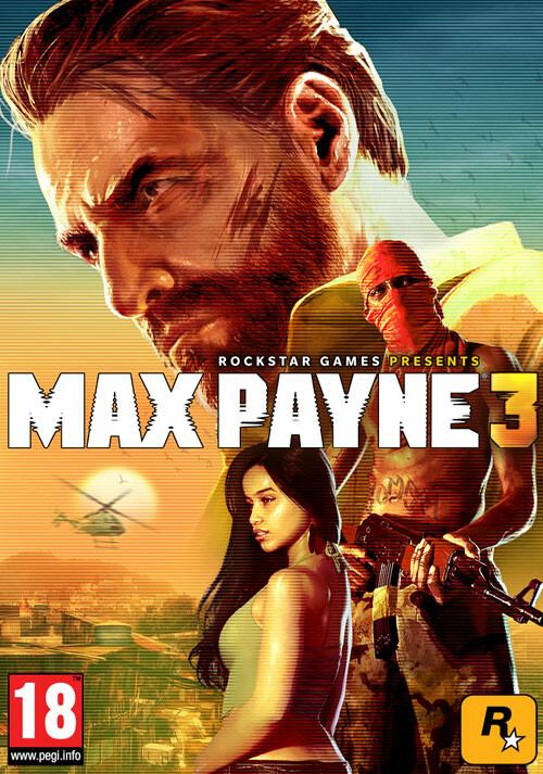Max Payne 3 - Cover / Packshot