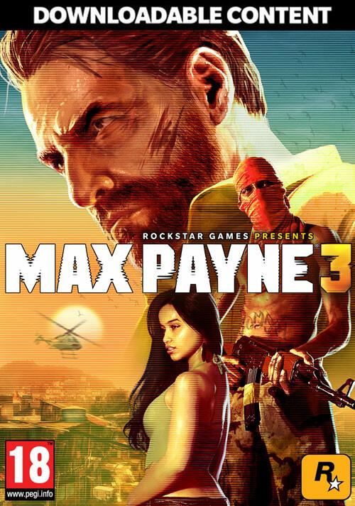Max Payne 3: Rockstar Pass - Cover / Packshot