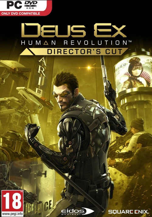 Deus Ex: Human Revolution - Director's Cut - Cover / Packshot