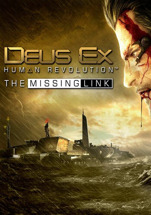 Deus Ex: Human Revolution - The Missing Link - Cover / Packshot