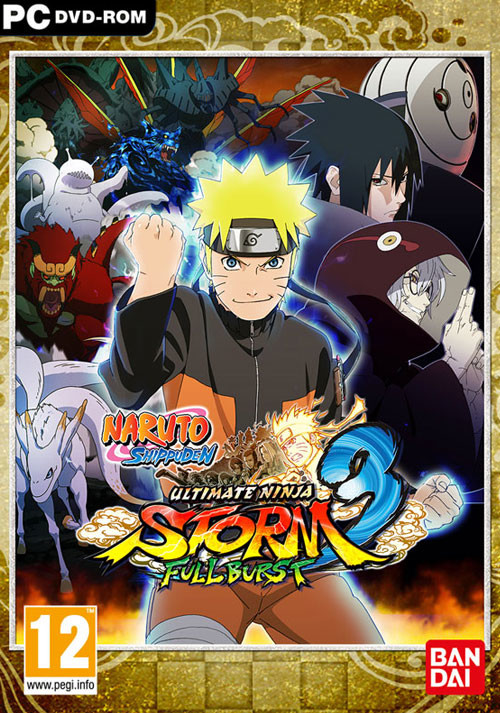 NARUTO SHIPPUDEN: Ultimate Ninja STORM 3 - Full Burst HD - Cover / Packshot