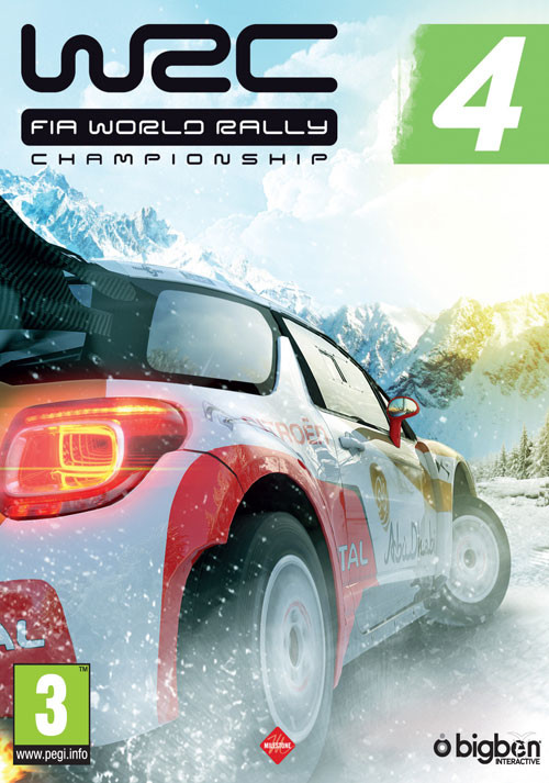 WRC 4 FIA World Rally Championship - Cover / Packshot