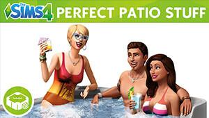 Die Sims™ 4 Sonnenterrassen-Accessoires