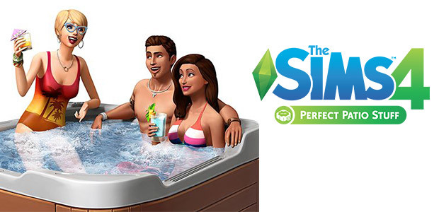 The Sims™ 4 Perfect Patio Stuff Pack - Cover / Packshot