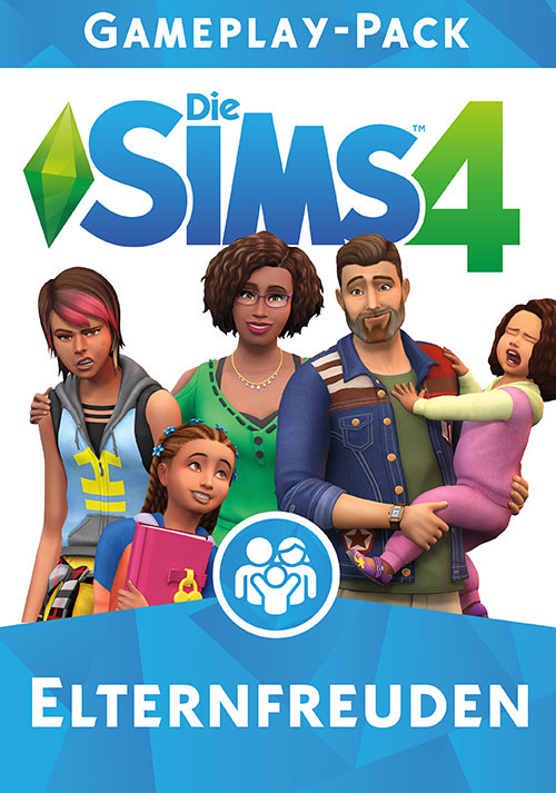 Die Sims™ 4 Elternfreuden - Cover / Packshot