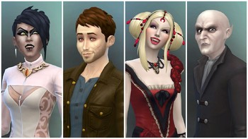 Screenshot1 - Les Sims™ 4 Vampires