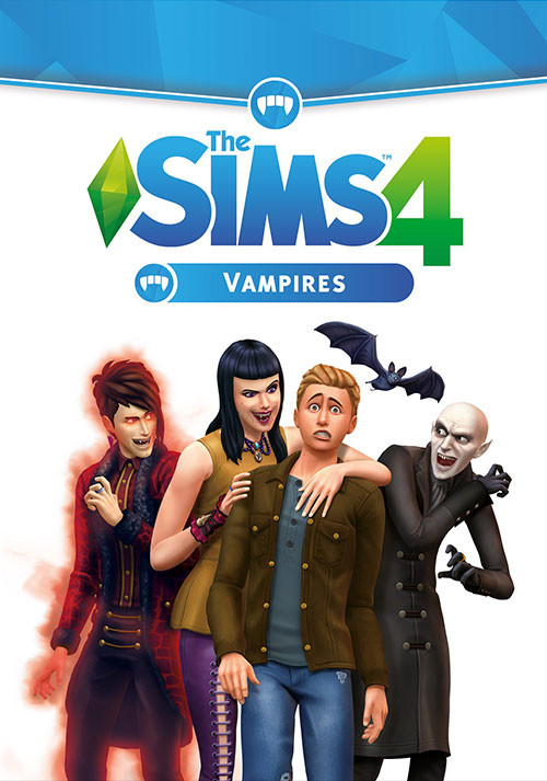 The Sims™ 4 Vampires - Cover / Packshot