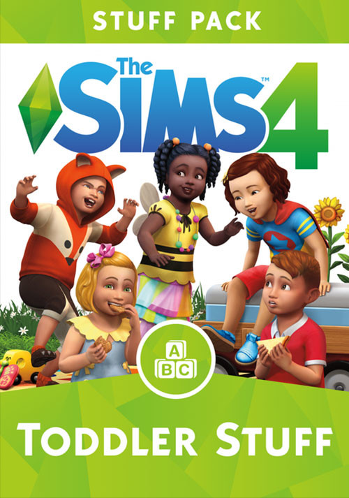 The Sims™ 4 Toddler Stuff - Cover / Packshot