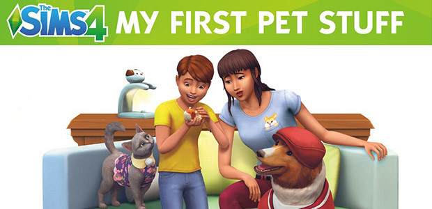 Les Sims™ 4 Kit d'Objets Premier animal de compagnie - Cover / Packshot