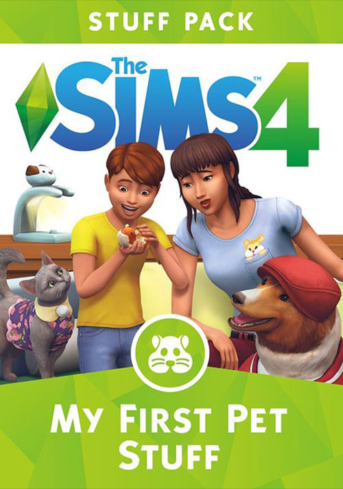 The Sims™ 4 My First Pet Stuff - Cover / Packshot