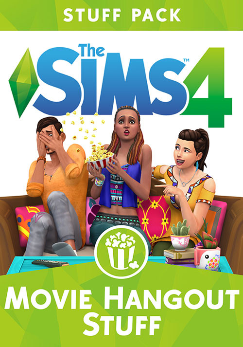 The Sims™ 4 Movie Hangout Stuff - Cover / Packshot