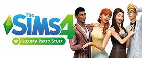 Die Sims™ 4 Luxus-Party-Accessoires