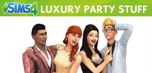 Les Sims™ 4 Kit d'Objets Soirées de Luxe - Cover / Packshot