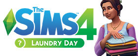 Die Sims™ 4-Waschtag-Accessoires
