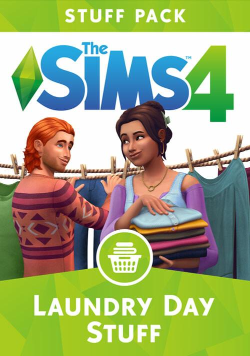 Les Sims™ 4 Kit d'Objets Jour de lessive - Cover / Packshot