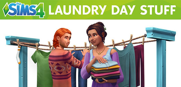The Sims™ 4 Laundry Day Stuff - Cover / Packshot