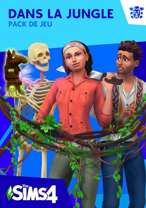 Les Sims™ 4 Dans la jungle - Cover / Packshot