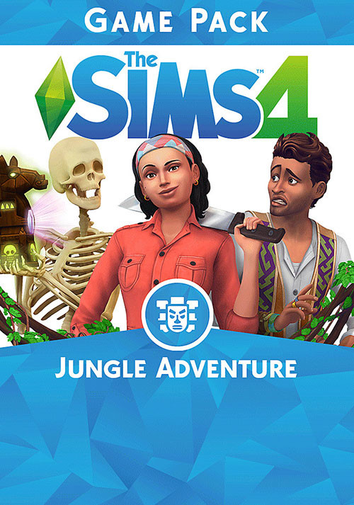 The Sims™ 4 Jungle Adventure - Cover / Packshot
