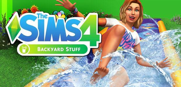 The Sims™ 4 Backyard Stuff - Cover / Packshot