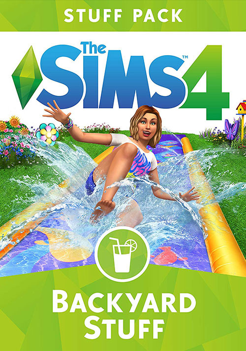 The Sims™ 4 Backyard Stuff - Cover / Packshot