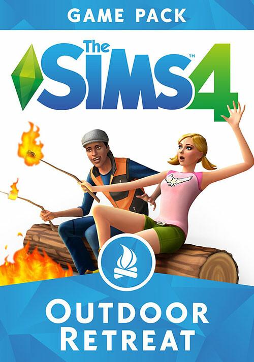Die Sims™ 4: Outdoor-Leben - Cover / Packshot