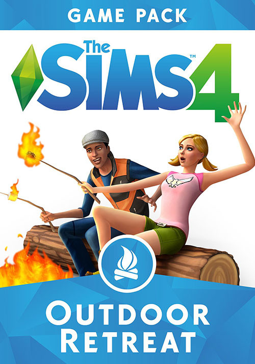 The Sims™ 4 Outdoor Retreat - Cover / Packshot