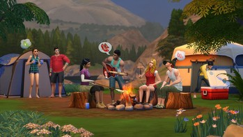 Screenshot3 - The Sims™ 4 Outdoor Retreat