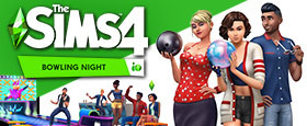 The Sims™ 4 Bowling Night Stuff