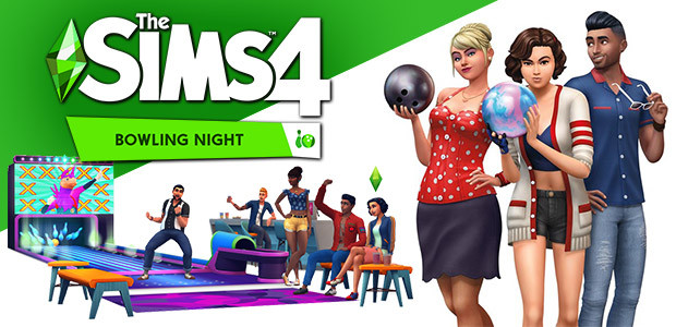 The Sims™ 4 Bowling Night Stuff - Cover / Packshot