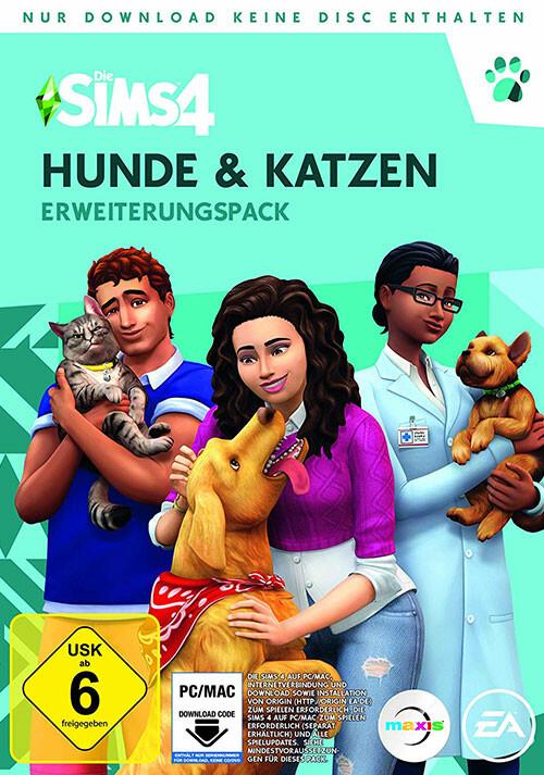 Die Sims™ 4 Hunde & Katzen - Cover / Packshot