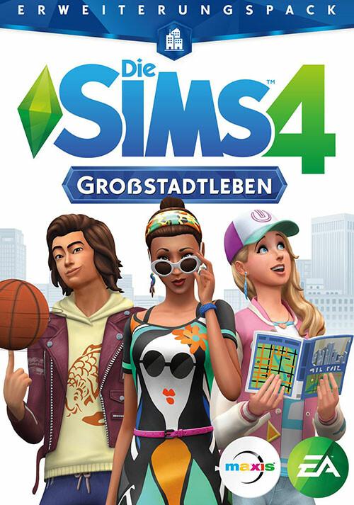 Die Sims™ 4 Großstadtleben - Cover / Packshot