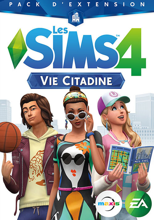 Les Sims™ 4 Vie Citadine - Cover / Packshot