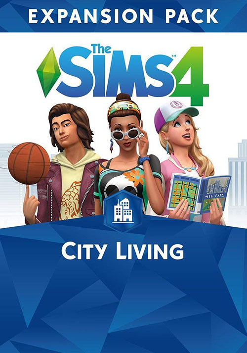 The Sims™ 4 City Living - Cover / Packshot
