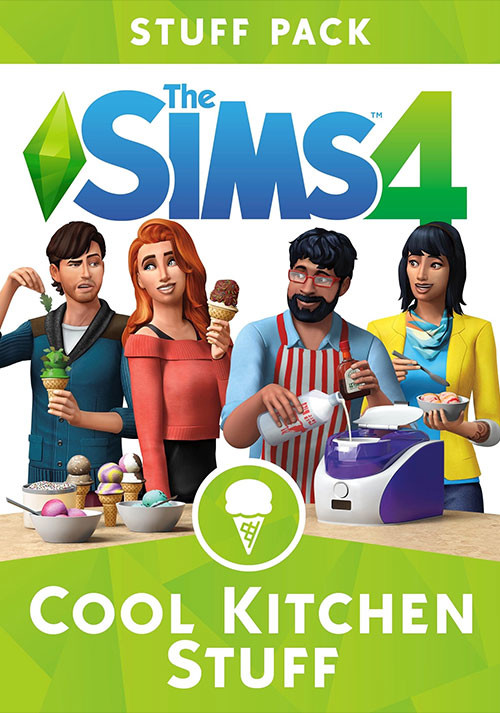 The Sims™ 4 Cool Kitchen Stuff Pack - Cover / Packshot