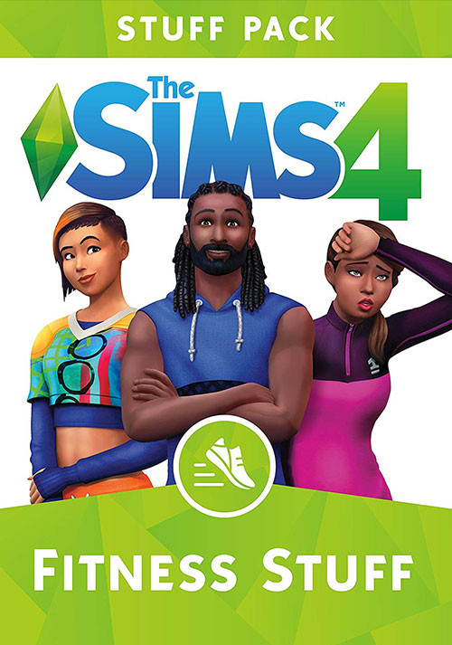 The Sims™ 4 Fitness Stuff - Cover / Packshot