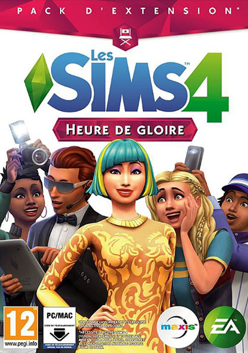Les Sims™ 4 Heure de gloire - Cover / Packshot