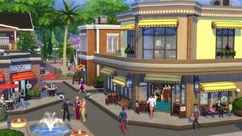 Screenshot2 - Les Sims 4 Au Travail